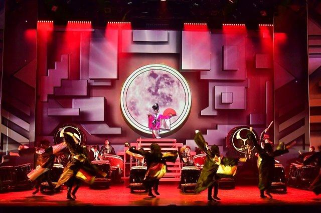DRUM TAO新作『ドラムロック 疾風』舞台写真_4