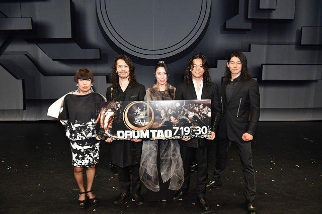 DRUM TAO新作『ドラムロック 疾風』舞台写真_5