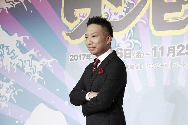 市川猿之助の演技に尾田栄一郎「君は何をやってもルフィにしか見えない」スーパー歌舞伎II『ワンピース』制作発表会見