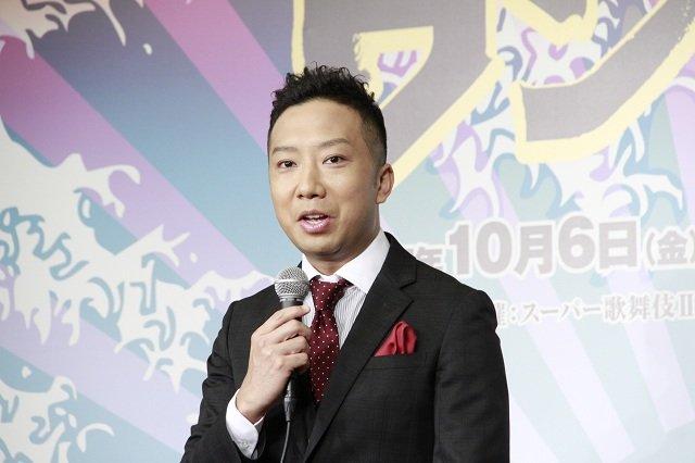 スーパー歌舞伎II『ワンピース』制作発表会見_市川猿之助