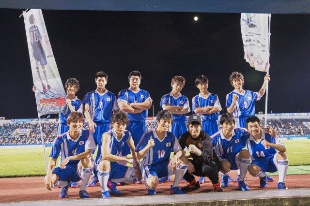 元木聖也ら舞台版・翼JAPANがピッチに登場!超体感ステージ『キャプテン翼』サッカー観戦ツアーレポート