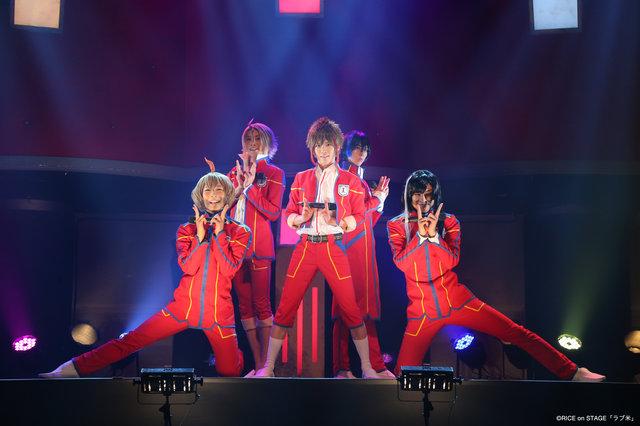 「ラブ米」ラブライス初お披露目『E.T.L vol.8』でアンプラネットらが熱唱!