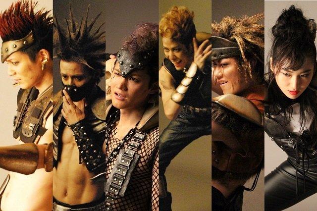 メインザコ、誕生の瞬間!舞台『北斗の拳 ‐世紀末ザコ伝説‐』ビジュアル撮影レポート