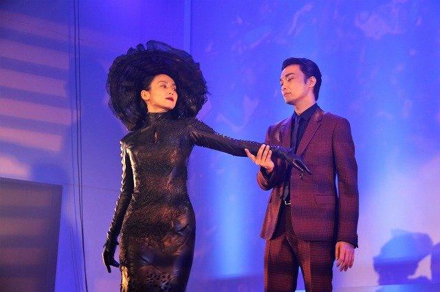中谷美紀&井上芳雄、デヴィッド・ルヴォー演出に喜び『黒蜥蜴』製作発表