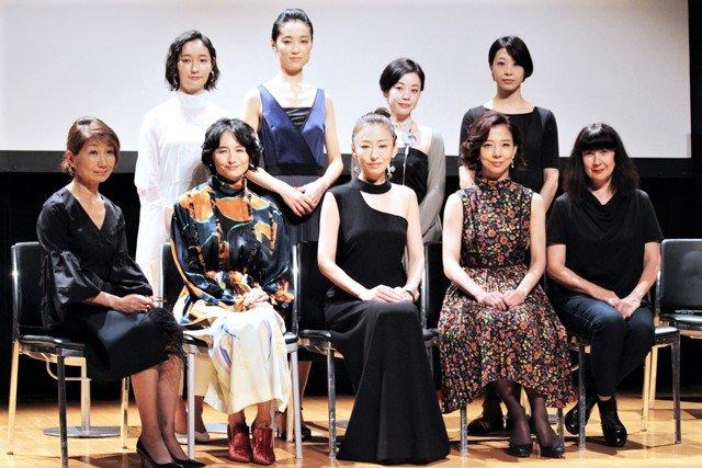 女流作家ネリー・アルカンの心の叫びを松雪泰子ら7人の女性たちが描き出す『この熱き私の激情』製作発表