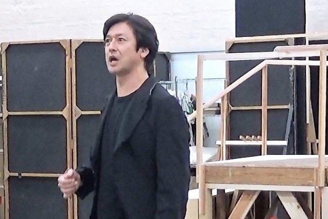 『スカーレット・ピンパーネル』稽古場写真3
