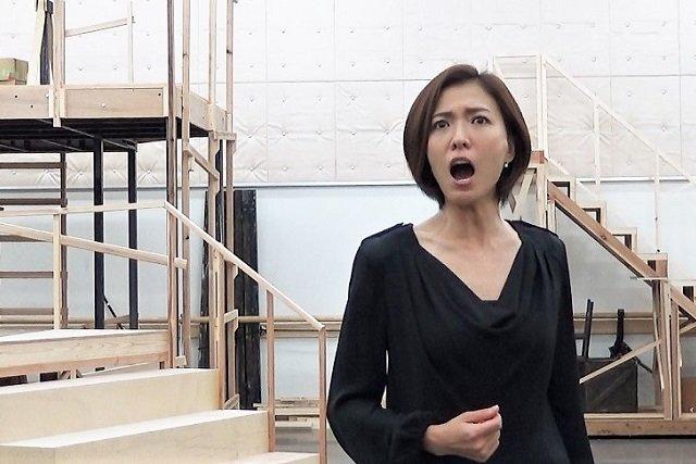 『スカーレット・ピンパーネル』稽古場写真4