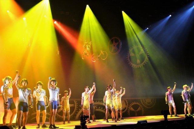 舞台『弱虫ペダル』新インターハイ篇~ヒートアップ~舞台写真_2