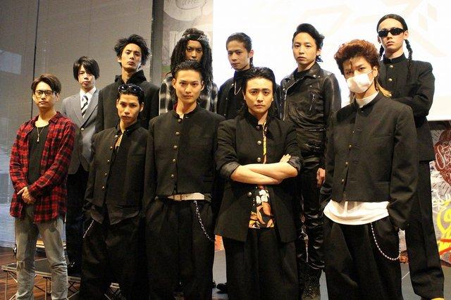 若者の青春をリアルに体感!劇団番町ボーイズ☆が挑む舞台『クローズZERO』公開記者発表会