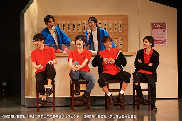 ミュージカル『テニスの王子様』TEAM Party SEIGAKU・ROKKAKU舞台写真_3