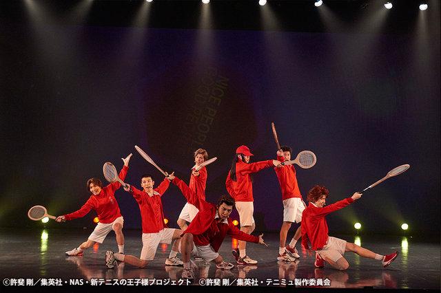 ミュージカル『テニスの王子様』TEAM Party SEIGAKU・ROKKAKU舞台写真_4