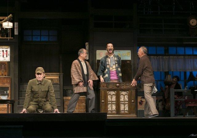 こまつ座 第120回記念公演『きらめく星座』舞台写真_3