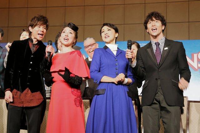 濱田めぐみ、平原綾香ら日本人キャストによる待望の上演!ミュージカル『メリー・ポピンズ』製作発表