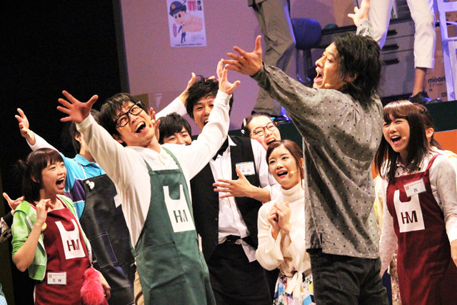 鎌苅健太、畠山遼らがスーパーを舞台に奮闘するミュージカルコメディ!『ハッピーマーケット!』開幕