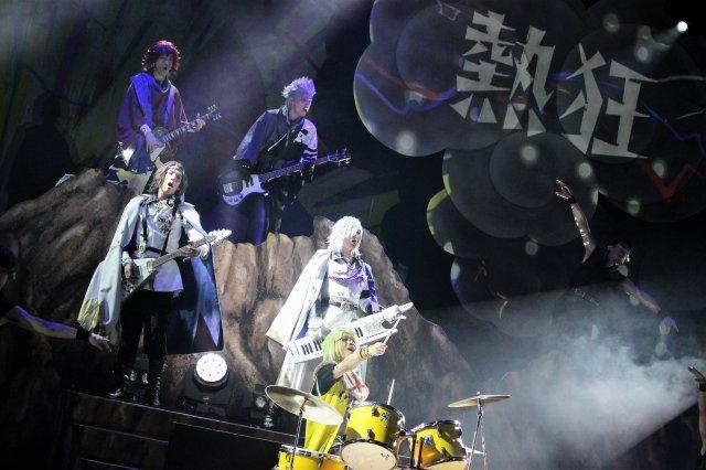 魂を揺さぶる爆音だぜよ!超歌劇『幕末Rock』絶叫!熱狂!雷舞、東京公演スタート