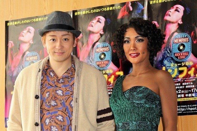 濱田めぐみ、山本耕史は「やっぱり天才でした!」ミュージカル『メンフィス』開幕