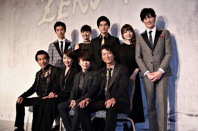 西川貴教が語った役設定に柚希礼音、岸谷五朗ら大笑い!地球ゴージャス『ZEROTOPIA』製作発表