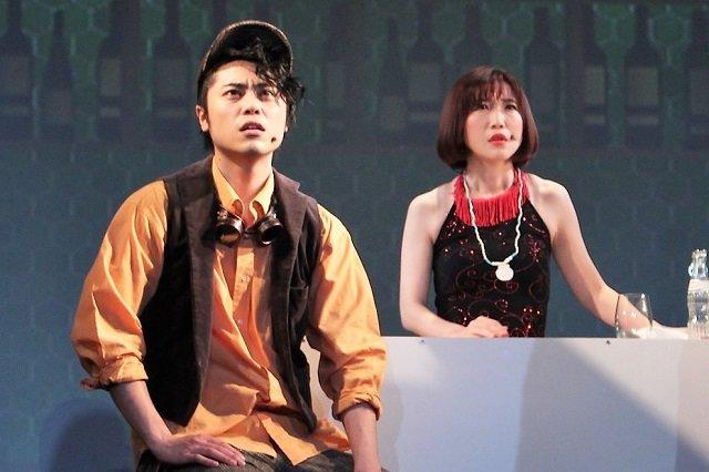 """=""""『トワイスアップ~自分を偽るそんな夜に本音を語れる雪がふる~』&『大山真志Special Live』舞台写真_3"""