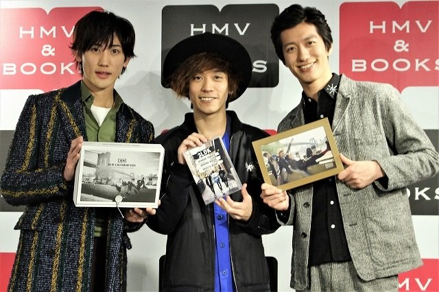 「3LDKは帰る場所」植原卓也、平間壮一、水田航生がNYでの共同生活を収めたカレンダー&DVD発売