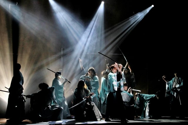 松田岳「役者の魂を感じて」ブルーシャトルプロデュース『新選組』開幕