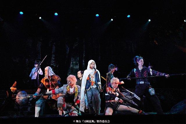 舞台『刀剣乱舞』三つら星刀語り舞台写真_3