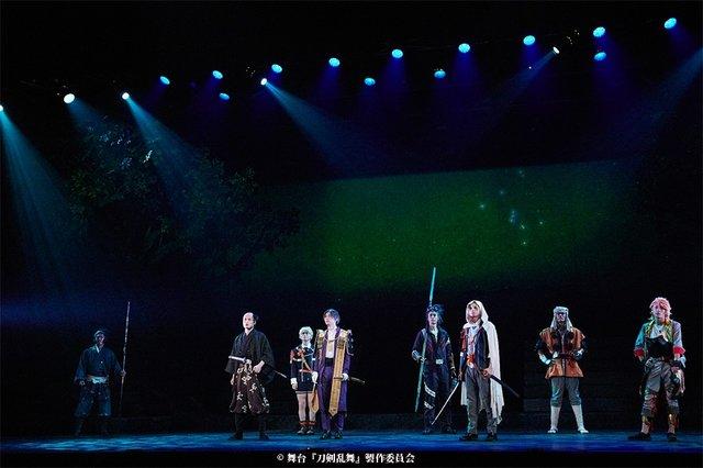 舞台『刀剣乱舞』三つら星刀語り舞台写真_4