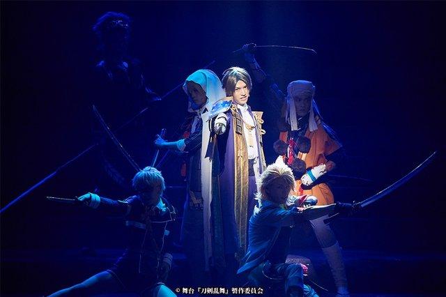 舞台『刀剣乱舞』三つら星刀語り舞台写真_7