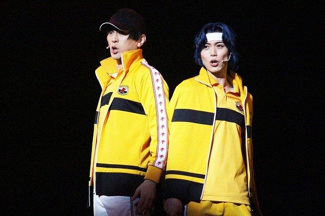 ミュージカル『テニスの王子様』3rdシーズン 青学(せいがく)vs比嘉_舞台写真5