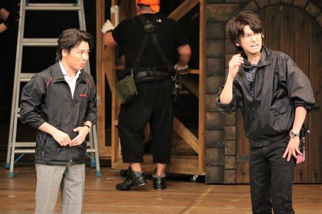 ミュージカル『HEADS UP!』舞台写真_3