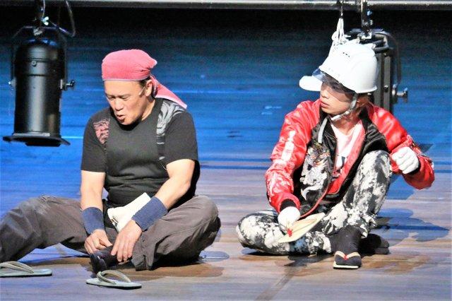 ミュージカル『HEADS UP!』舞台写真_4