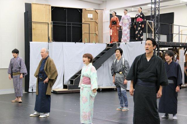 江戸文化の立役者が蘇る!橋本さとし、中川翔子らが出演『戯伝写楽 2018』本番直前稽古場レポート