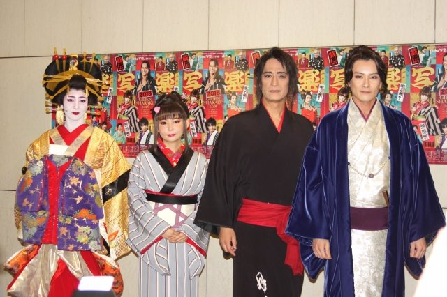 中川翔子「妄想しがいのある世界!」Japanese Musical『戯伝写楽 2018』開幕