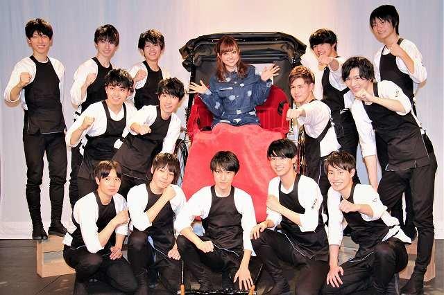 レプロ初の男性演劇ユニット「ウズイチ」に菊地亜美が辛口コメント炸裂!