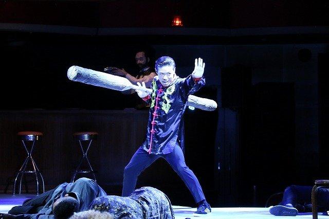 EXILE松本利夫の一人舞台『MATSUぼっち』開幕!「無茶振りをクリアしていくのが見どころ」---http://enterstage.jp/news/2018/02/008920.html