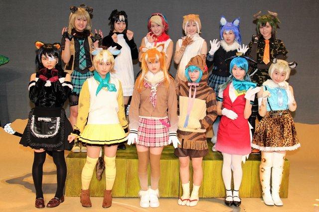 指原莉乃プロデュースのアイドルグループ=LOVE初舞台!ステージプロジェクト「けものフレンズ」公演レポート