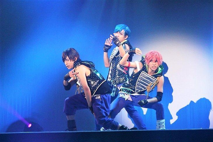 B-PROJECT on STAGE『OVER the WAVE!』REMiX舞台写真_3