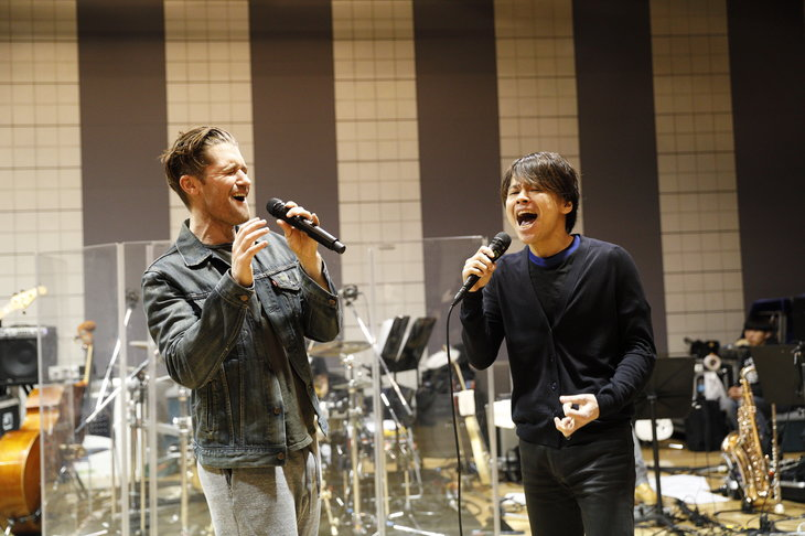 マシュー・モリソン、日本での初ソロコンサートに向け「明日を楽しもう!」中川晃教とのデュエットも