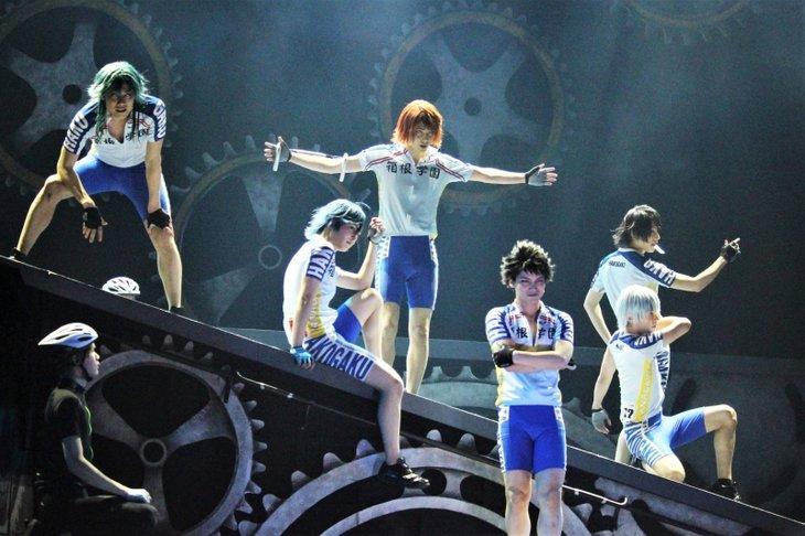 舞台『弱虫ペダル』新インターハイ篇~箱根学園王者復格(ザ・キングダム)~舞台写真_2