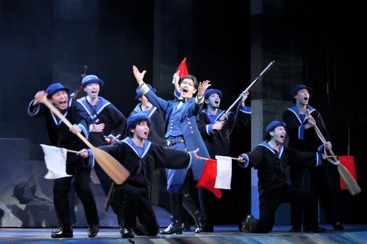 ミュージカル『刀剣乱舞』〜結びの響、始まりの音〜舞台写真_12