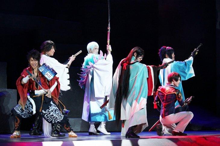 ミュージカル『刀剣乱舞』〜結びの響、始まりの音〜舞台写真_14