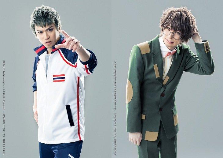 MANKAI STAGE『A3!(エースリー)』キャストビジュアル第6弾!滝口幸広&田口涼からコメント到着