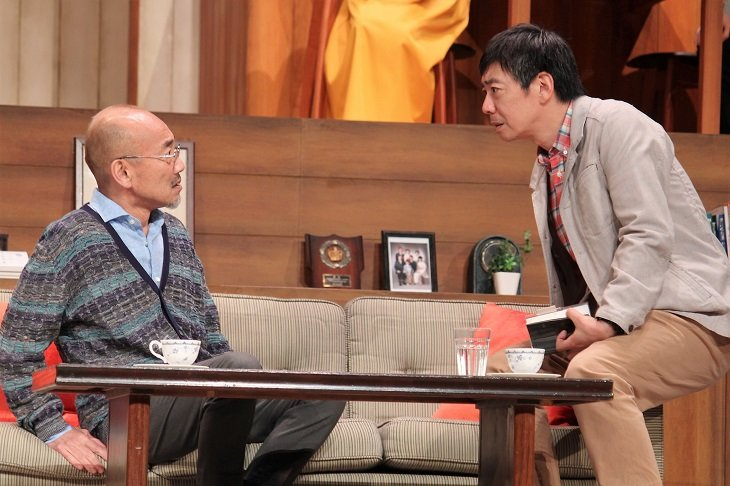 生瀬勝久、竹中直人との共演は「至福の時間」竹生企画『火星の二人』開幕