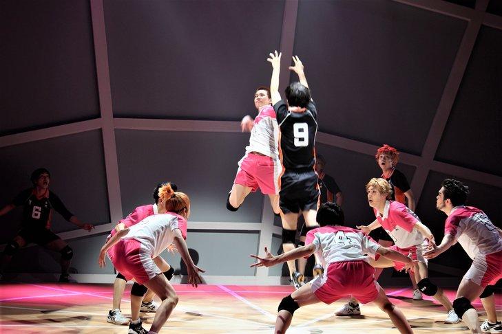 演劇「ハイキュー!!」〝はじまりの巨人〞舞台写真_3