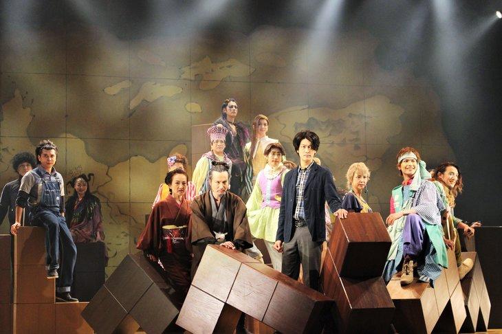 少年社中20周年記念第2弾 少年社中第34回公演『MAPS』舞台写真_12