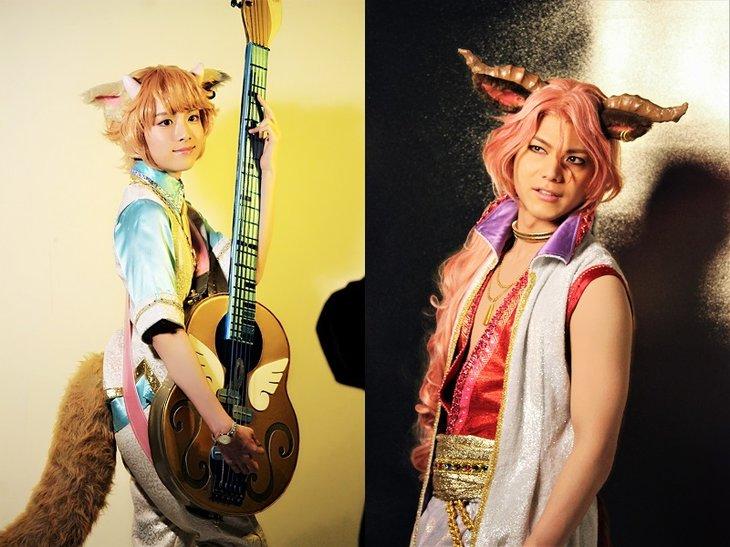 Live Musical「SHOW BY ROCK!!」アルカレアファクトビジュアル撮影レポート_19