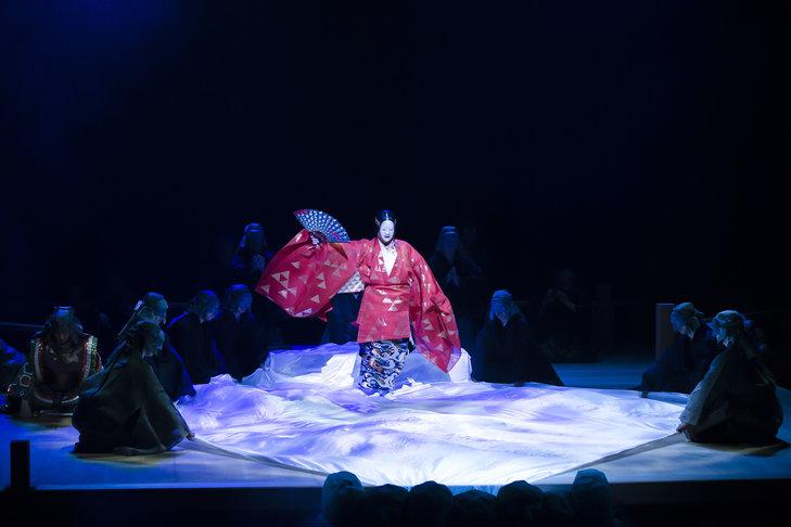 野村萬斎「能と狂言は表裏一体」狂言劇場特別版―能『鷹姫』狂言『楢山節考』