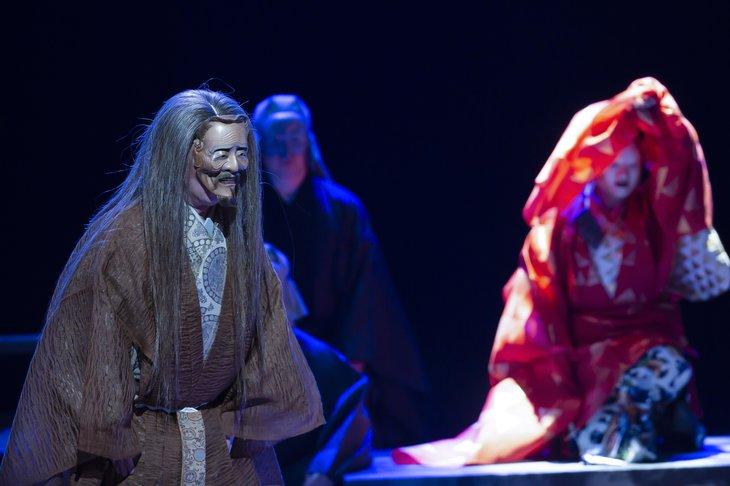 狂言劇場特別版―能『鷹姫』狂言『楢山節考』舞台写真_2