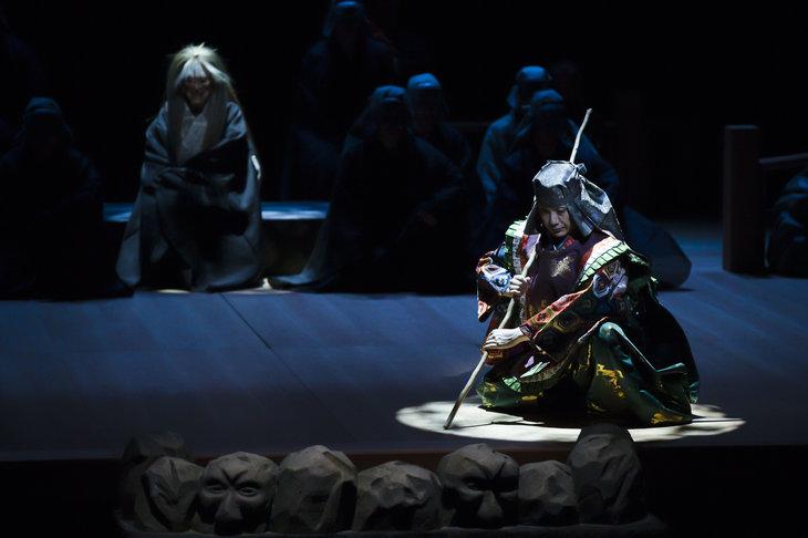 狂言劇場特別版―能『鷹姫』狂言『楢山節考』舞台写真_3