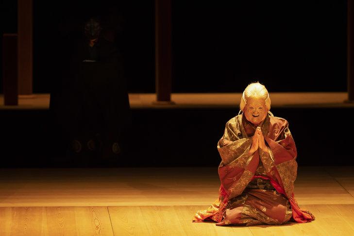 狂言劇場特別版―能『鷹姫』狂言『楢山節考』舞台写真_4