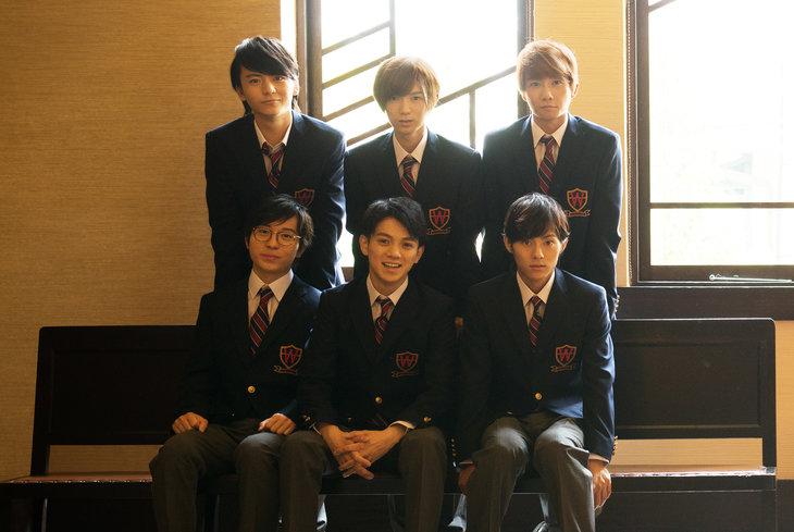 舞台『いまを生きる』宮近海斗、永田崇人ら生徒6名のビジュアルを公開